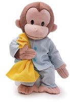 Gund Curious George in Pajamas Plush Toy by