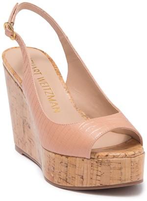 Stuart Weitzman Riviera Wedge Sandal