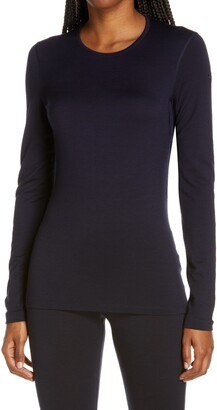 Icebreaker Women's Oasis Long Sleeve Merino Wool Base Layer T-Shirt