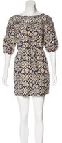 3.1 Phillip Lim Abstract Print Silk Dress