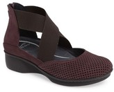 Dansko Women's Laura Perforated Crisscross Wedge