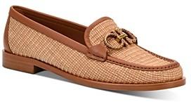 Salvatore Ferragamo Women's Embellished Slip On Loafer Flats