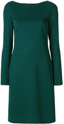 Talbot Runhof Long-Sleeved Mid Dress