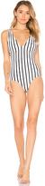 Tori Praver Swimwear Elena One Piece in Ivory. - size XS (also in )