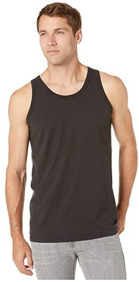 Hanes Comfortwashtm Garment Dyed Tank Top (Black) Clothing