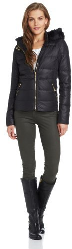 Juicy Couture Women's Whitney Nylon Puffer Jacket