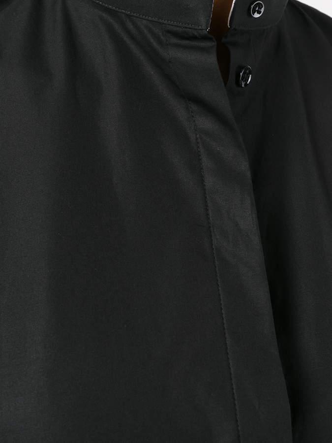 Haider Ackermann band collar shirt