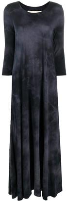 Raquel Allegra Long Tie-Dye Dress