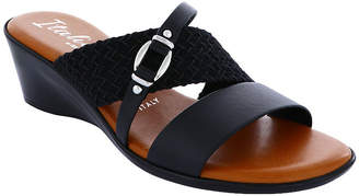 Italiana By Italian Shoemakers Womens Shelbie Wedge Sandals