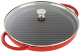 """Staub Cherry 12"""" Round Steam Grill"""