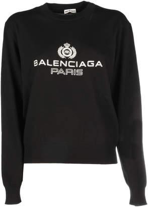 Balenciaga Long Sleeve Knit Top