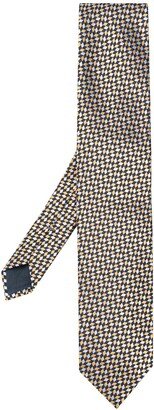 Ermenegildo Zegna Patterned Silk Tie