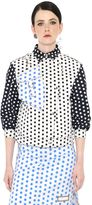 J.W.Anderson Polka Dot Stretch Cotton Drill Jacket