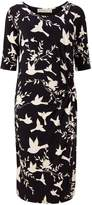 Sugarhill Boutique JENNA BIRD TWIST JERSEY DRESS