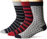 Ben Sherman Men's Christopher Crew Socks