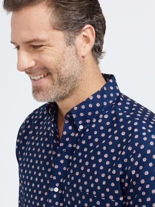 J.Mclaughlin Westend Modern Fit Shirt in Daisy