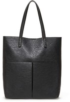 Sole Society Clifton vegan double pocket tote
