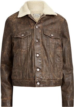 Ralph Lauren Fleece-Lined Trucker Jacket