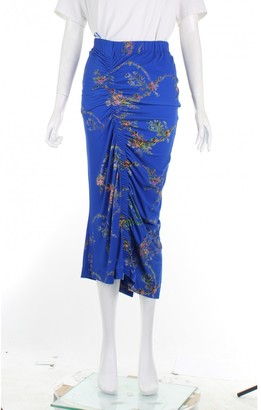 Preen Blue Polyester Skirts