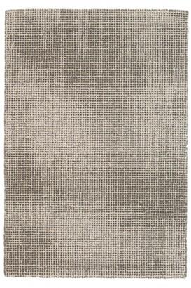 Crowley & Grouch Imports Matrix Grey Woollen Rug