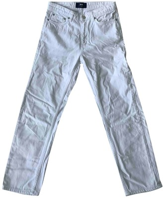 Wood Wood White Cotton Jeans for Women