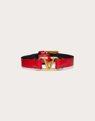 Valentino Vlogo Signature Calfskin Bracelet Women Blossom 100% Pelle Di Vitello - Bos Taurus OneSize