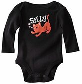 Circo Silly Kitty Long-Sleeve Baby Bodysuit by Circo, Blk & Pink 0-3 mths
