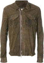 Giorgio Brato zipped shirt jacket