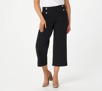Women with Control Petite Tummy Control Sailor Crop Pants