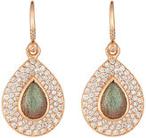 Irene Neuwirth Diamond Collection Women's Gemstone Teardrop Earrings