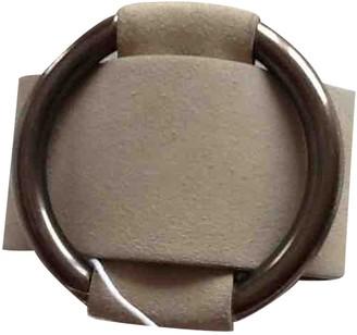 Celine Grey Cloth Bracelets