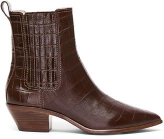 Loeffler Randall Aylin Leather Western Booties