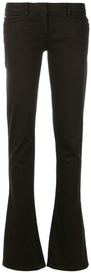 Balmain low rise bootcut jeans
