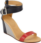 Maison Martin Margiela Colorblock Wedge Sandals