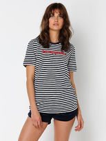 Le Coq Sportif New Womens Gisele T Shirt In Navy Tops & T Shirts Athletics