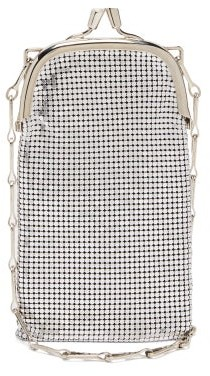 Paco Rabanne Pixel 1969 Mini Chainmail Shoulder Bag - Silver