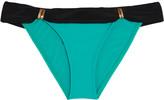 Vix Bia two-tone low-rise bikini briefs