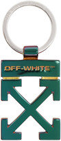 Off-White Off White Multicolor Iridescent Arrows Keyring