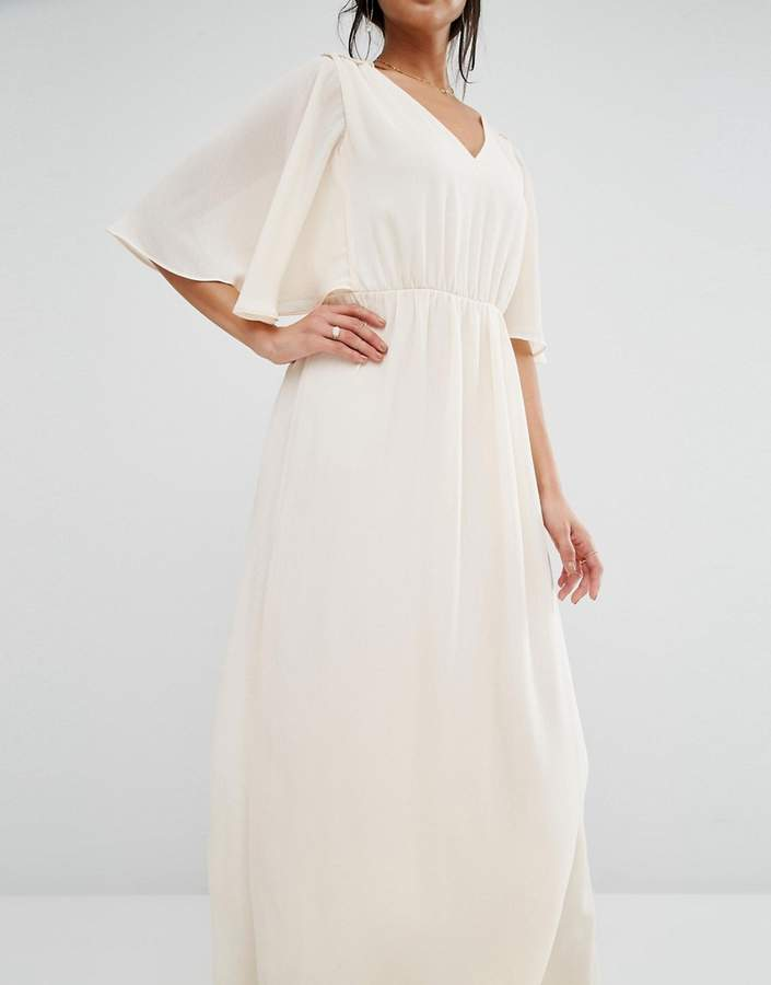 MANGO Angel Sleeve Maxi