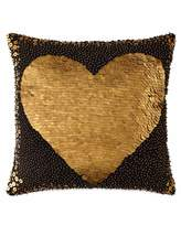 Jonathan Adler Black Heart Pillow