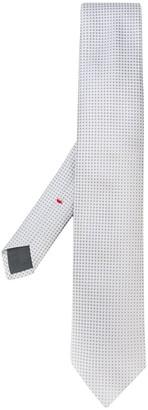 Dell'oglio Dotted Jacquard Silk Tie