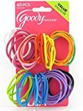 Goody Girls Oucless 3MM Hair Elastics, 45 Count