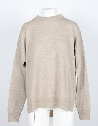 NOW Camel Cashmere and Wool Women's Sweater