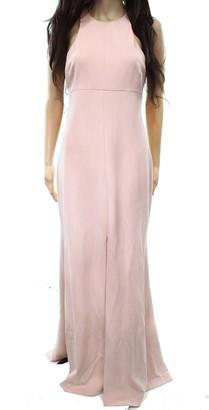 Vera Wang Women's Sleeveless Gown with Cutout Back