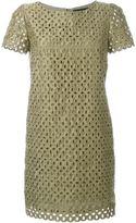 Marco Bologna lace cut out dress