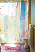 Urban Outfitters Iridescent Shower Curtain