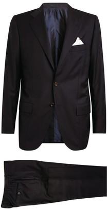 Kiton Wool Single-Breasted Suit