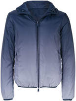 Armani Jeans gradient zipped jacket