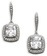 Adriana Orsini Framed Cushion Drop Earrings