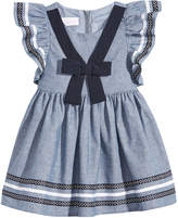 Bonnie Baby Chambray Nautical Dress, Baby Girls (0-24 months)